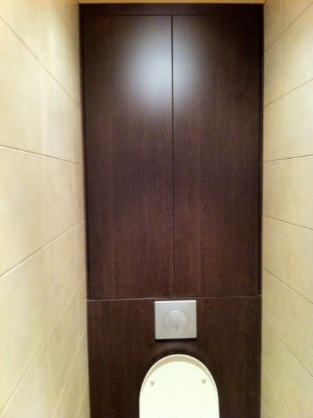 Placard suspendu wc for Interieur wc suspendu